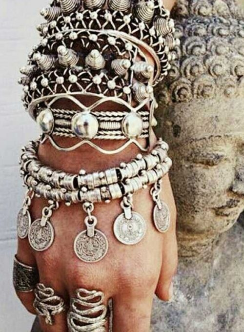 Gypsy Münzarmband im Boho Style - der stylische Eyecatcher ab 39,-