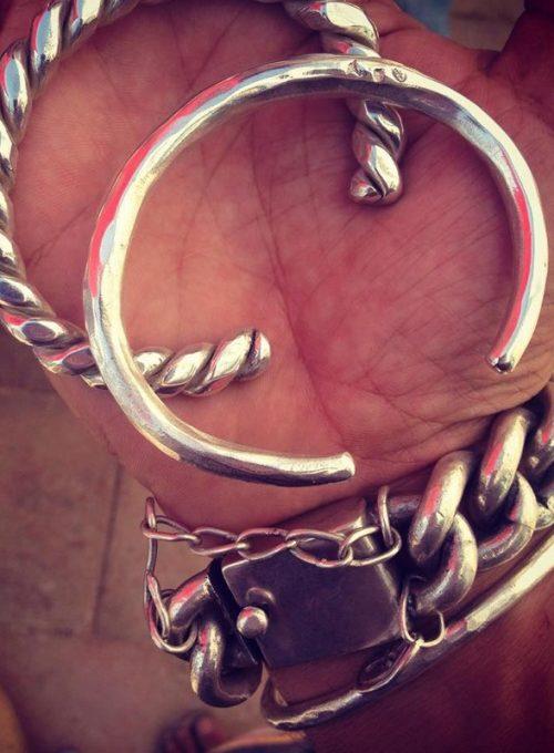 Silberarmreif Ibiza, dein handgefertigtes Lifetime-piece und Unikat ab 350,-
