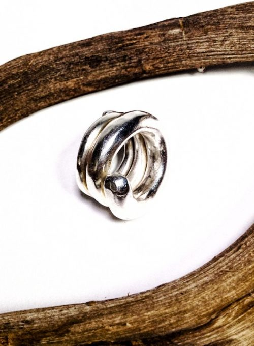 Boho Silberring Ibiza - handgefertigtes Lifetime-piece und Unikat ab 330,-