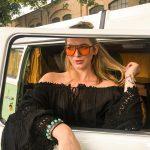 Hippie Moon schwarzes Bohokleid – Lola Dress