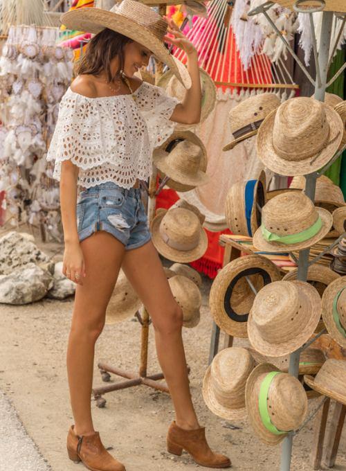 Miss June Boho Top Aruba - dein Bohochic Off-Shoulder Top ab 118,-