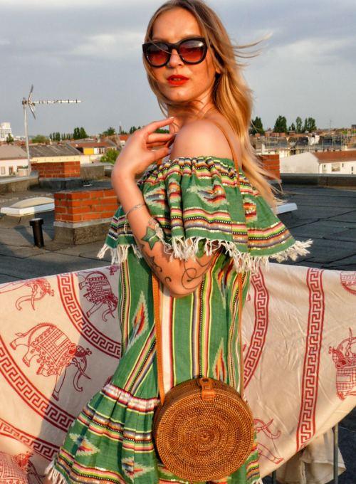 Miami Etno Bohokleid - Aztec Print meets Ibiza Boho Fashion ab 139,-