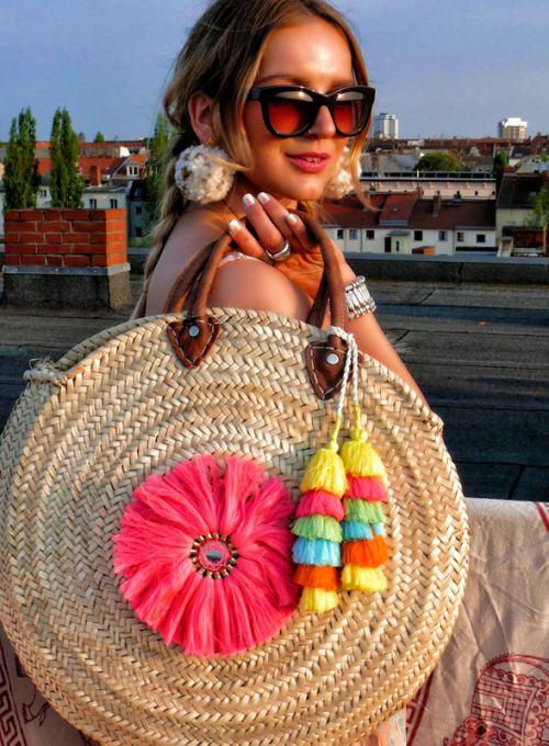 Ibiza Korbtasche - der Bohochic Somertrend der Saison ab 54,-