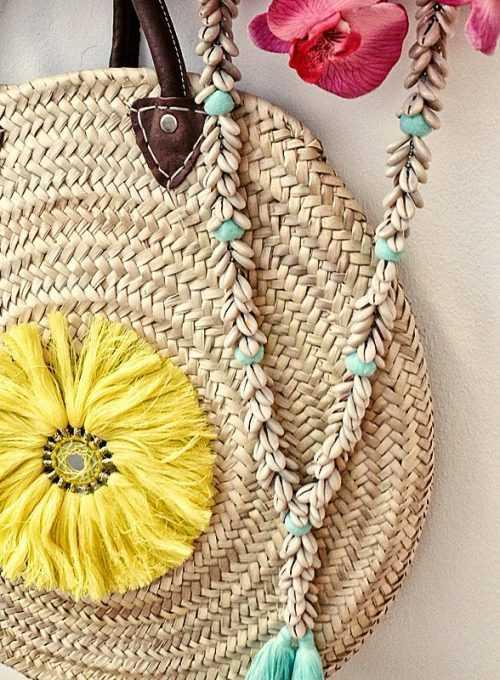 Die Formentera Bohokette - Handgefertigt aus Cauri Muscheln ab 35,-