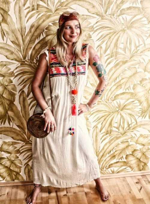 Marina Boho Maxikleid - der luftige Sommertraum aus Crepestoff ab 119,-