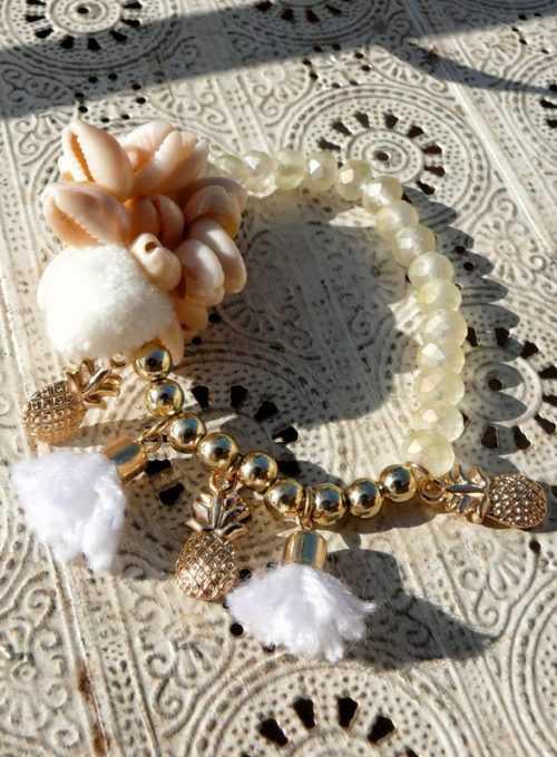 Boho Armband Pina - dein Accessoire für Ibiza Feeling pur ab 12,-