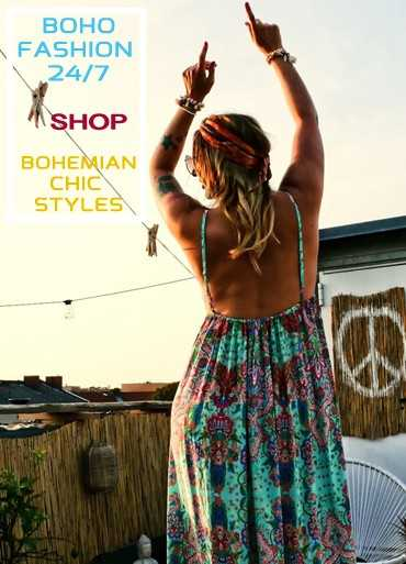 Boho Fashion 24/7 Shop Bohemian Chic Styles