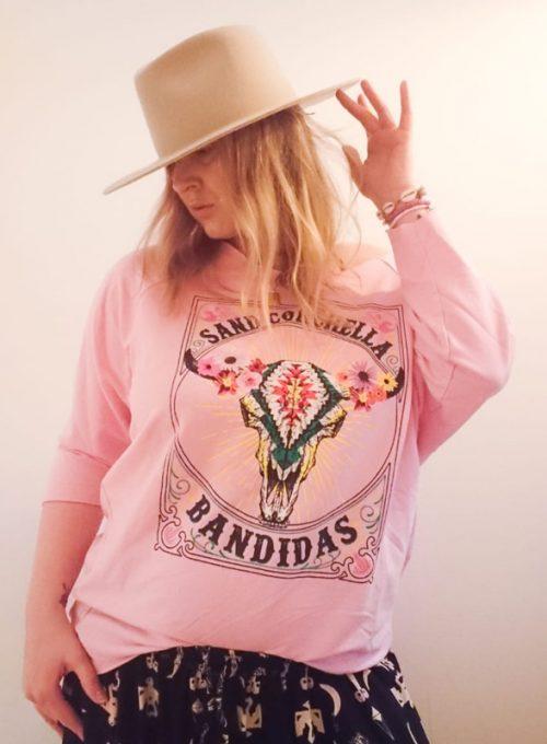 Bandidas Sweater - Lasercut Sweatshirt im L.A. Style für 45,-