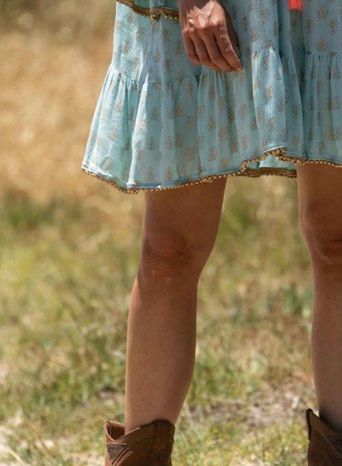 Tunikakleid Carola - der luftige Sommertraum aus Crepestoff ab 62,-