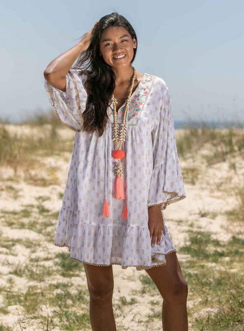 Tunikakleid Carola - der luftige Sommertraum aus Crepestoff ab 67,-