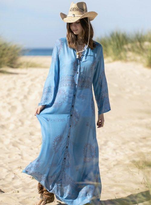 Kimonokleid Chloe - India Print meets Ibiza Hippiechic für 62,-