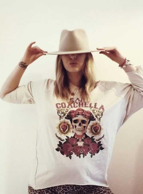 Frida Sweater - Lasercut Sweatshirt im L.A. Style für 45,-