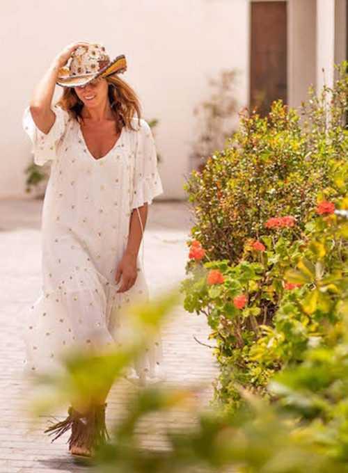 Ibiza Sommerkleid Gaia - ein Sommerkleidchen im Bohochic ab 109,-