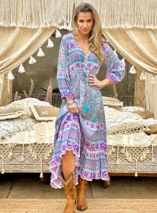 Maxikleid Lavinia - das schönste Kleid im Bohochic für 134,-