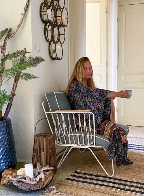Kimono Elia - ein Traum aus Seide, Hippiechic meets Ibiza Style für 69,-