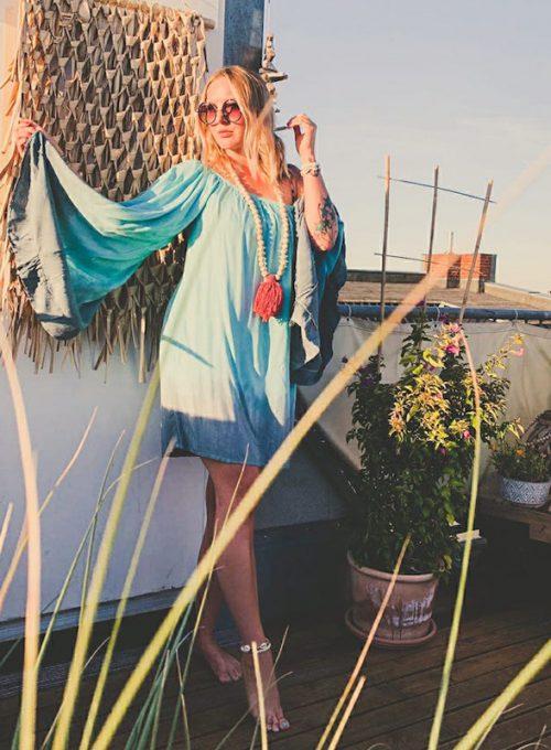 Tunikakleid Menorca - der luftige Sommertraum im Batiklook ab 49,-