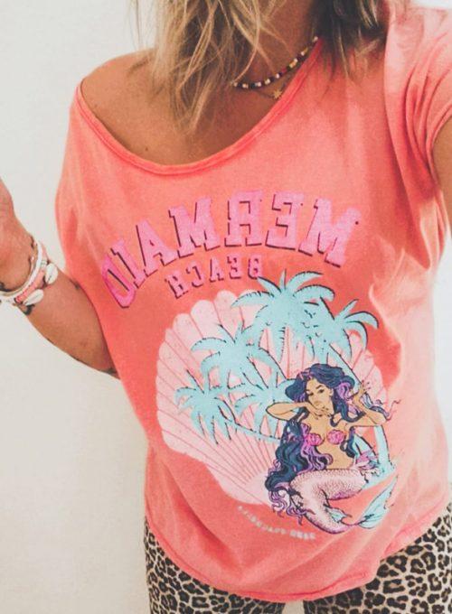 Tshirt Mermaid - Das It-Piece im L.A. Surferstyle für 45,-