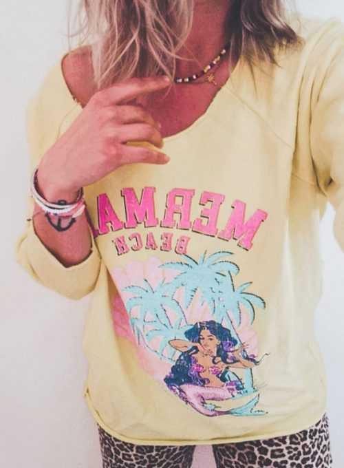 Sweater Mermaid - Das Must Have im Surferstyle für 64,-