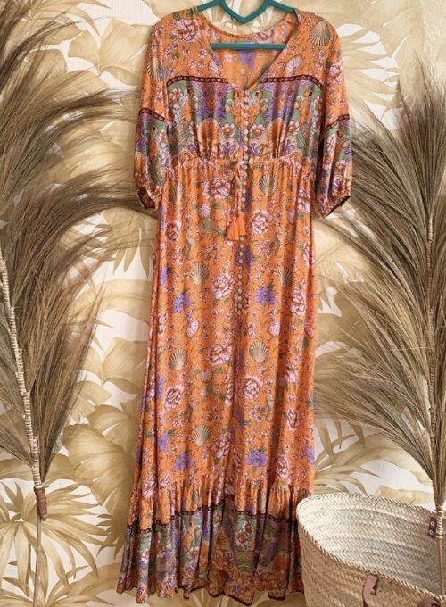 Knopfkleid Mermaid - das schönste Kleid im Bohochic für 134,-