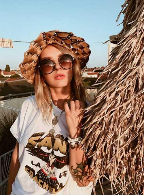 Oversize Shirt Eagle - Vintage Shirt im Boho Festival Style ab 45,-