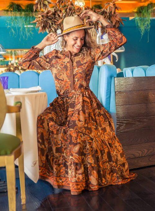 Seidenkleid Nina - das Traumkleid im Bohostil für jede Jahreszeit ab 79,- €