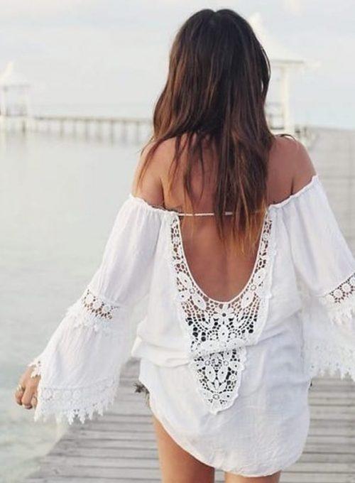 Dein weißes Ibizaboho Kleid, der Eyecatcher im lässigen Bohochic ab 49,-